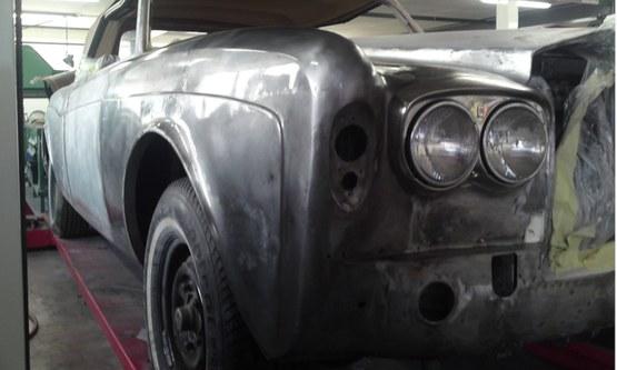 Rolls Royce Corniche schade na herstel